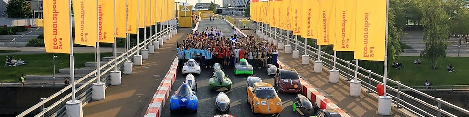 Shell Eco-marathon, Londyn, 2017 Start