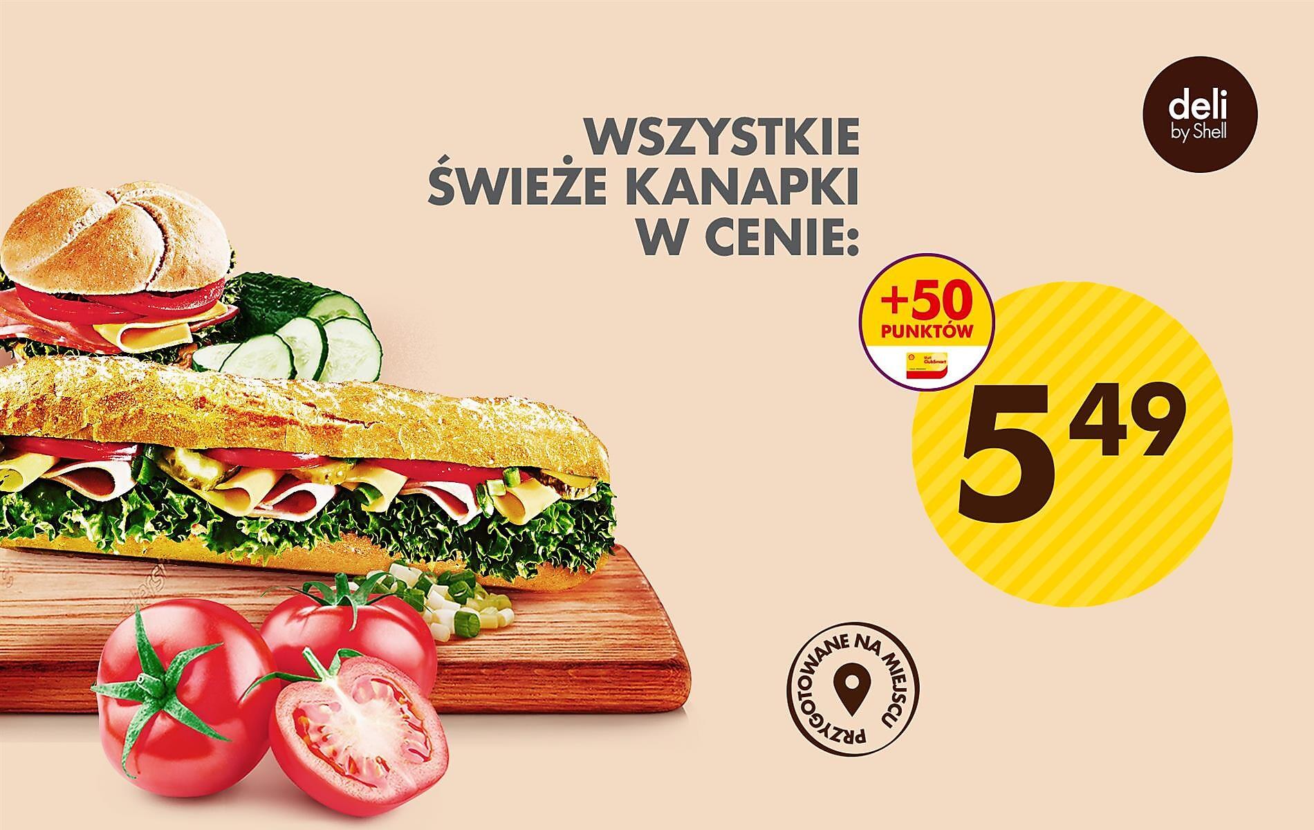 Pyszne kanapki w świetnych cenach