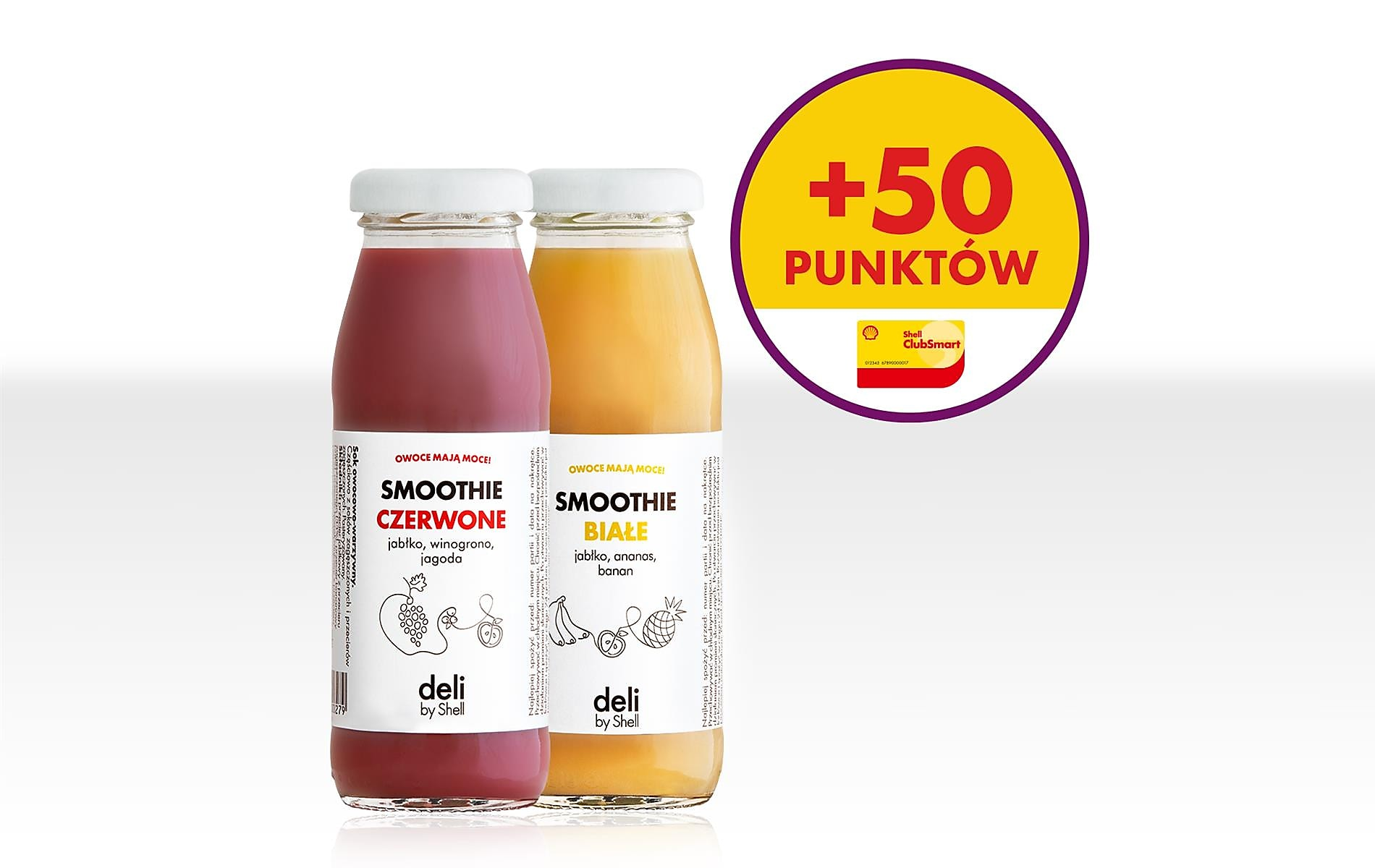 + 50 pkt za smoothies