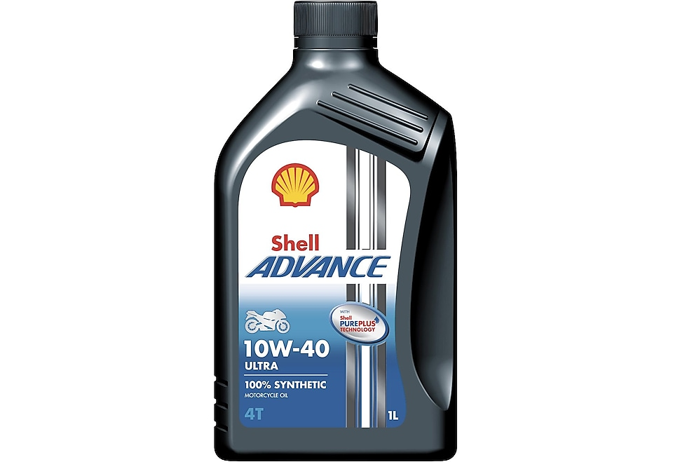 Packshot of Shell Advance 4T Ultra 10W-40